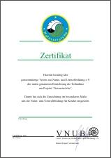 Naturstrolche Zertifikat