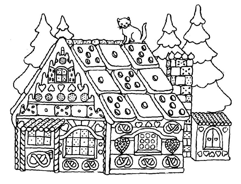 hansel si gretel coloring pages - photo#30